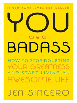 cover image of You Are a Badass